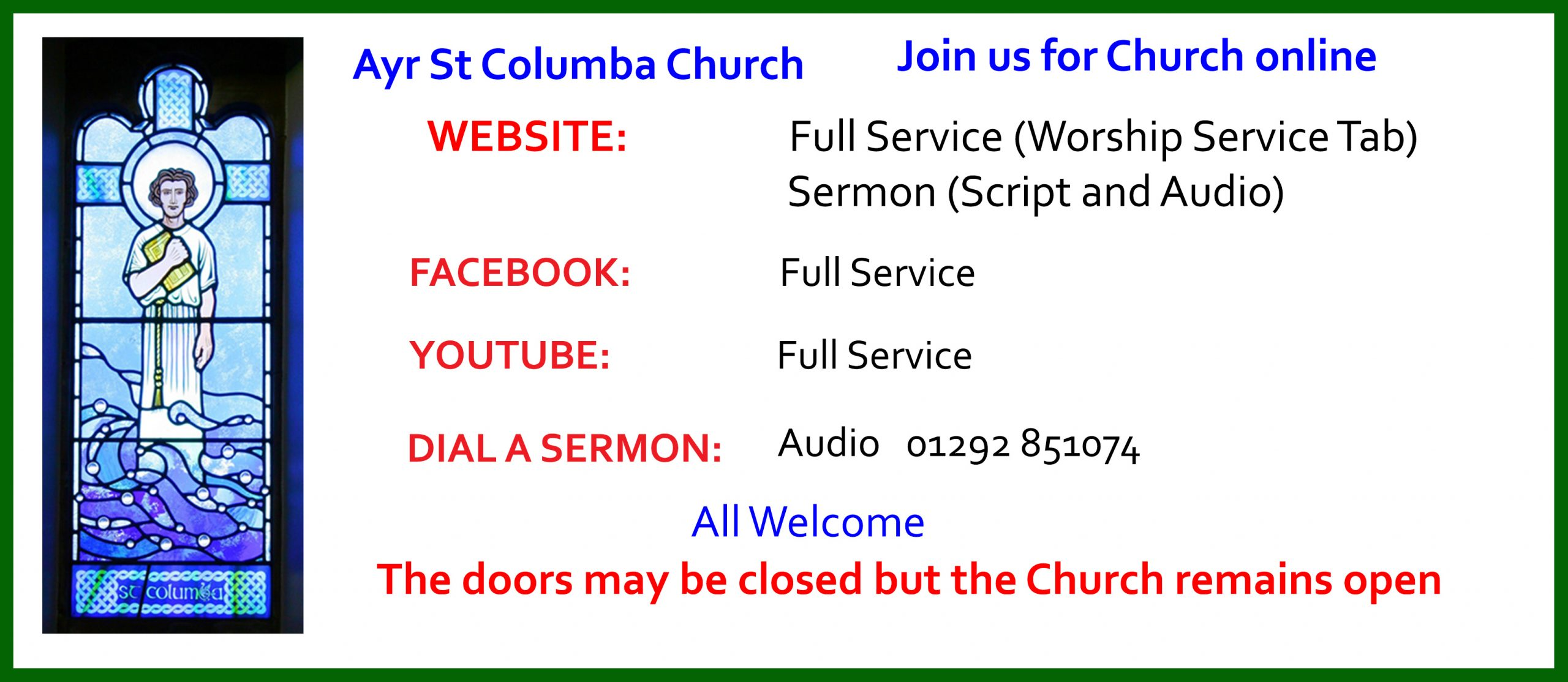 Ayr: St Columba Church